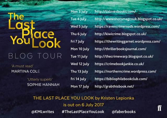 The Last Place You Look - BLOG TOUR POSTER
